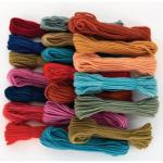 Threads Yarns and Wool