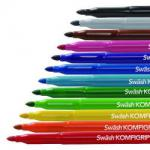 Colouring Pens and Pencils