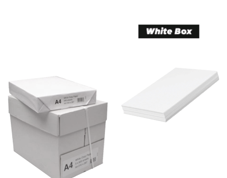 5 Reams of A4 Paper White Box (A4) Paper (Box of 5 Reams) 02462X