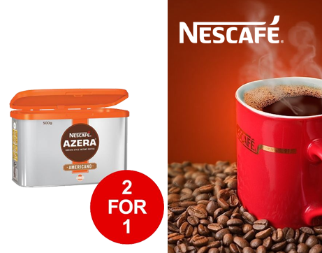 See Deal Nescafe Azera Barista Style Instant Coffee Americano 500g Ref 122842212 for 1 January 2019 07398X