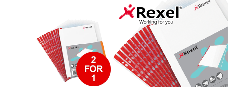 See Deal Rexel Nyrex Pocket Reinforced Red Strip Side-opening A4 Clear Ref 12253 Pack of 25 2 for 1 January 2019 07412X
