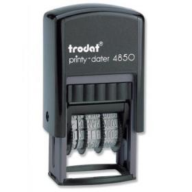 BEST NEW Trodat Printy 4750 Self Inking Multicolor Dater Stamp for office use