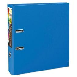 Cheap Stationery Supply of Exacompta Premtouch (A4) Lever Arch File 2 O-Ring 600-Sheets Polypropylene Blue (Pack 10) 53342E Office Statationery
