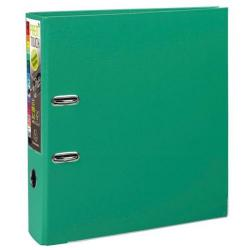 Cheap Stationery Supply of Exacompta Premtouch (A4) Lever Arch File 2 O-Ring 600-Sheets Polypropylene Green (Pack 10) 53343E Office Statationery