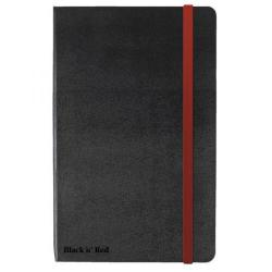 Cheap Stationery Supply of Black n Red (A6) 90g/m2 144 Pages Ruled and Numbered Casebound Notebook (Black) - Offer 2 for 1 Jun 1 2015 400021019-XX200 Office Statationery
