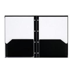 Cheap Stationery Supply of Rexel Advance (A4) 2 Pocket Customisable PP Folder (Black) 2103743-XX500 Office Statationery