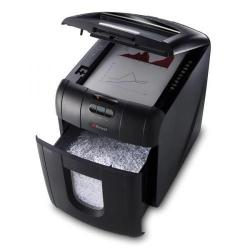 Cheap Stationery Supply of Rexel Auto+ 100M Shredder (Micro Cut) 26 Litre Bin 100 Sheets P-5 2104100-XX500 Office Statationery