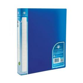 Concord Natural Ring BInder Polypropylene 2 O-Ring 25mm Size A4 Blue Ref 6064-PFL (BLU) Pack of 10