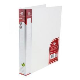 Concord Natural Ring BInder Polypropylene 2 O-Ring 25mm Size A4 Clear Ref 6061-PFL (CLR) Pack of 10