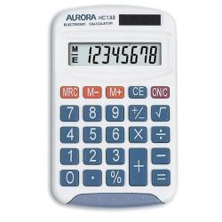 Cheap Stationery Supply of Aurora HC133 Handheld Calculator 8 Digit LCD Display 3 Memory Keys HC133-789 Office Statationery