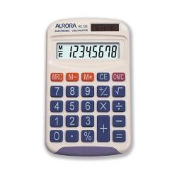 Cheap Stationery Supply of Aurora DB453B Semi-Desk Calculator with Large Display/Keys 8-Digit HC133-XX Office Statationery