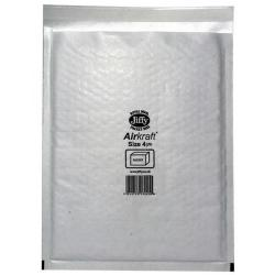 Cheap Stationery Supply of Ambassador Antalis Airkraft (Size 4) Postal Bags Bubble-lined Peel and Seal 240x320mm White (1 x Pack of 50 Bags) October - December 2015 JL-4-XX Office Statationery