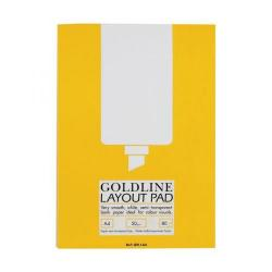 Cheap Stationery Supply of Goldline (A4) Layout Pad Bank Paper 50g/m2 80 Sheets 3 For 2 October - December 2015 GPL1A4Z-XX701 Office Statationery