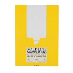Cheap Stationery Supply of Goldline (A4) Marker Pad Bleedproof 70g/m2 100 Pages (White) 3 For 2 October - December 20015 GPB1A4Z-XX701 Office Statationery