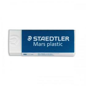 Staedtler Mars Plastic Eraser Premium Quality Self-cleaning 65x23x13mm Ref 52650 Pack of 20