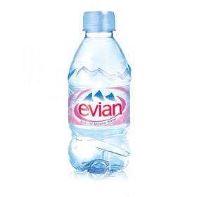 Evian Natural Mineral Water Still Bottle Plastic 330ml Ref N001460 Pack of 24
