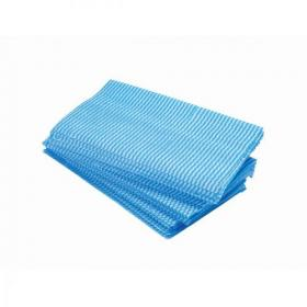 5 Star Facilities Large All Purpose cloths 610x360mm Blue Pack of 50