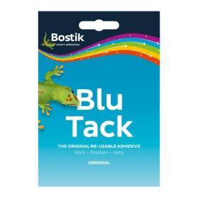 Bostik Blu Tack Original Mastic Adhesive Non-toxic Handy Pack 60g Ref 801103 Pack of 12