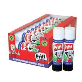 Pritt Stick Glue Solid Washable Non-toxic Standard 11gm Ref 1564149 Pack of 25