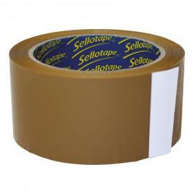 Sellotape Case Sealing Tape Vinyl 50mm x 66m Buff Ref 0246 Pack of 6