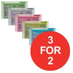 Cheap Stationery Supply of Snopake Polyfile (Foolscap) Classic Polypropylene Wallet (Assorted Colours) Pack of 5 Wallets (3 For 2) July - September 2016 10087X-XX11 Office Statationery