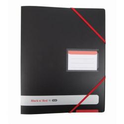 Cheap Stationery Supply of Black n Red (A4) 4 O-Rings 16mm Capacity Polypropylene Covered Ring Binder (Black) - OFFER Buy 4 and Get FREE Notebook (Jan-Dec 2017) 400078863-XX1 Office Statationery