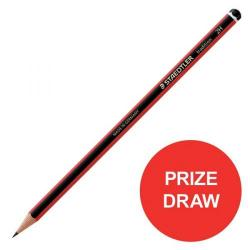 Cheap Stationery Supply of Staedtler Tradition 110 (2H) Cedar Wood Pencil (Pack of 12 Pencils) Competition Offer (January - December 2017) 110-2H-12345XX Office Statationery