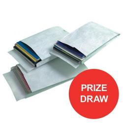 Cheap Stationery Supply of Tyvek (C4) Gusseted Envelopes Extra Capacity Strong 324x229x38mm White (1 x Pack of 20 Envelopes) - Competition OFFER (Jan-Mar 2017) 67180-XX4 Office Statationery
