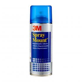 3M SprayMount Adhesive Spray Can CFC-Free Non-staining 400ml Ref SMOUNT
