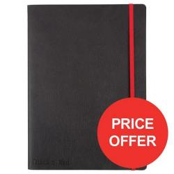 Cheap Stationery Supply of Black n Red (B5) Soft Cover Casebound Business Journal Notebook 90g/m2 144 Pages Ruled and Numbered (Black) - Price Offer (Apr-Jun 2017) 400051203-XX729 Office Statationery