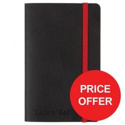 Cheap Stationery Supply of Black n Red (A6) Soft Cover Casebound Business Journal Notebook 90g/m2 144 Pages Ruled and Numbered (Black) Price - Offer (Apr-Jun 2017) 400051205-XX729 Office Statationery