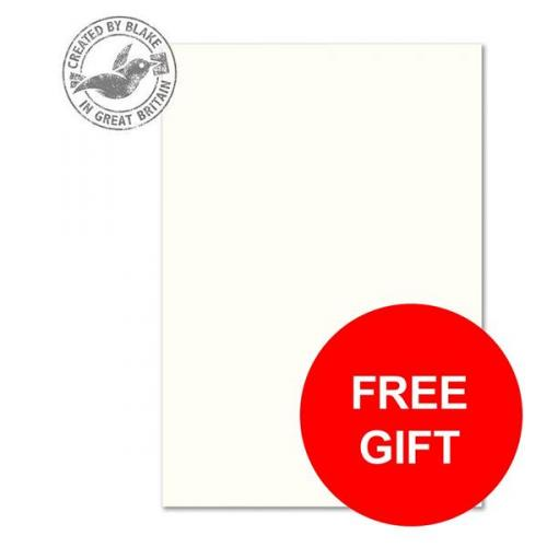 Pack of 500 Blake Premium Business A4 High White 120g//m2 Laid Paper
