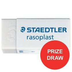 Cheap Stationery Supply of Staedtler Rasoplast 526-B30 (42mm x 18mm x 12mm) Self-Cleaning Eraser (1 x Pack of 30) - Prize Draw (Apr-Jun 2017) 526B30 -1234 Office Statationery
