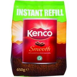 Cheap Stationery Supply of Kenco Smooth (650g) Freeze Dried Instant Coffee in an Eco Refill Pack A03298 *2017 Mailer* A03298 - XXX Office Statationery