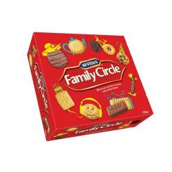 Cheap Stationery Supply of Crawfords Family Circle (800g) Biscuits 10 Varieties Re-sealable Box *2017 Mailer* A07747 - XXX Office Statationery