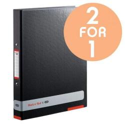 Cheap Stationery Supply of Black n Red by Elba (A4) 25mm Ring Binder (Black) - OFFER 2 for 1 (Jul 2017) 400051510-9876 Office Statationery