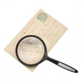 Round Magnifier 2x Main Magnification 4x Window Magnification Diam.61mm