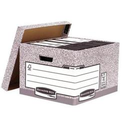 Cheap Stationery Supply of Bankers Box by Fellowes System Large Storage Box (1 x Pack of 10 Storage Boxes) 01810-FF-XX Office Statationery