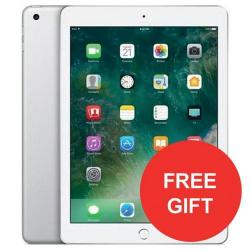 Cheap Stationery Supply of Apple iPad (9.7 inch Multi-Touch) Tablet PC 32GB A9 Chip WiFi Bluetooth Camera Retina Display iOS 10 Touch-ID (Silver) - OFFER FREE Case Jan 3/18 MP2G2B/AA-XX Office Statationery