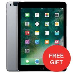Cheap Stationery Supply of Apple iPad (9.7 inch Multi-Touch) Tablet PC 32GB A9 Chip WiFi + Cellular Bluetooth Camera Retina Display iOS 10 Touch-ID (Space Grey) - OFFER FREE Case Jan 3/18 MP242B/A-XX Office Statationery