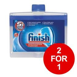 Cheap Stationery Supply of Finish Dishwasher Cleaner Liquid 250ml 153850 2 for 1 Jan-Mar 2019 Office Statationery