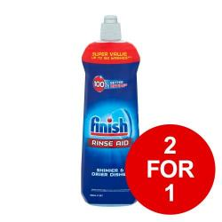 Cheap Stationery Supply of Finish Shine & Protect Rinse Aid 800ml RB760420 2 for 1 Jan-Mar 2019 Office Statationery