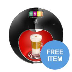Cheap Stationery Supply of Nescafe Dolce Gusto Majesto Coffee Machine 1.8L 12360980 FREE Assorted 240 x Pods Apr-Dec 19 Office Statationery