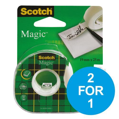2 FOR 1 ON SCOTCH MAGIC TAPE DISPENSER