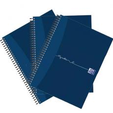 OxfordMyNotes NbkWbnd 90gsm RldMgn Perfd Pched 2 Holes 200pg A5  100082372 Pack of 3 2 for 1 Jan12/20