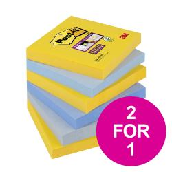 Cheap Stationery Supply of Post-it Super Sticky Nt New York 76x76mm 654-6SS-NY Pack 6 2 for 1 Jan-Mar 20 Office Statationery
