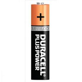 Duracell Plus Power Battery Alkaline AAA Size 1.5V Ref 81275396 Pack of 4