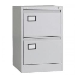 Cheap Stationery Supply of Triumph Trilogy 2 Drawer Filing Cabinet (Grey) TR2D Grey Office Statationery