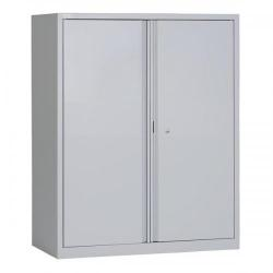 Cheap Stationery Supply of Triumph EveryDay 2 Door Lockable Cupboard (Grey) E101D Grey Office Statationery