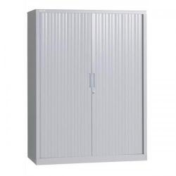 Cheap Stationery Supply of Triumph EveryDay Cupboard (Grey) E101T Grey Office Statationery